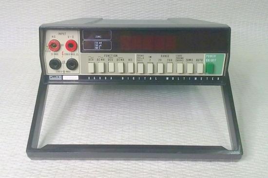 Multimètre 8600A - FLUKE - Année 1974