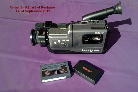 Camescope V8 Pal CCD-F330E SONY - Année 1988