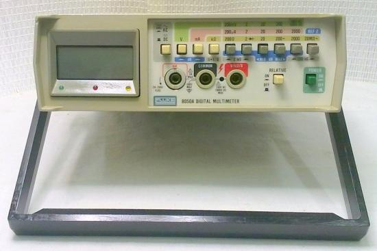 Multimètre 8050A -FLUKE - Année 1979