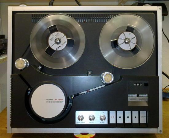 Magnétoscope Noir et Blanc LDL1002 PHILIPS - Année 1973