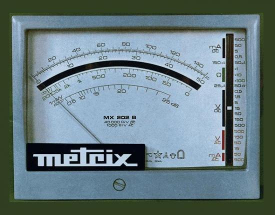 Multimètre MX-202B - METRIX - Année 1973