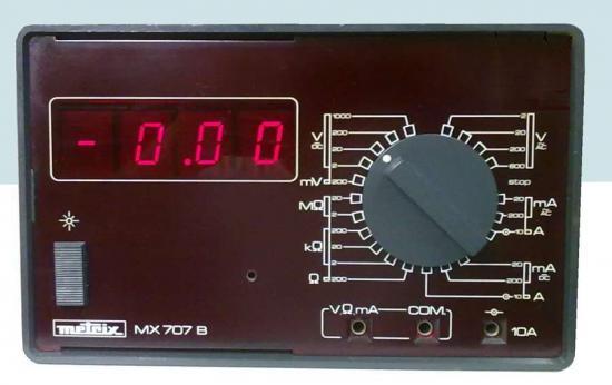 Multimètre MX-707B - METRIX - Année 1974
