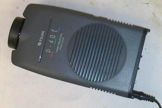 Projecteur Vidéo Pal/Secam/Ntsc P-40E FUJIX - Année 1992
