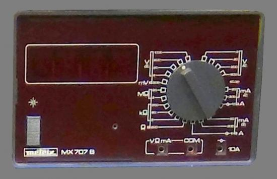 0 mx707b metrix