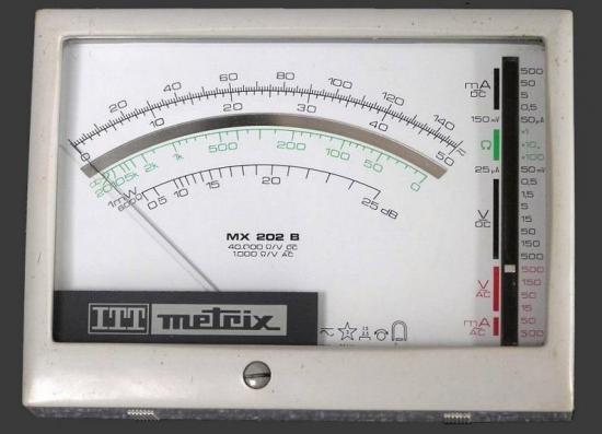 1 metrix mx 202b