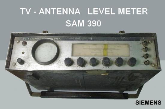 1b tv antenna level meter sam390