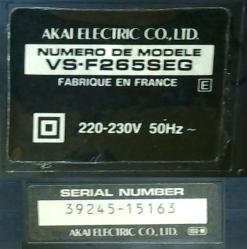 3 scope arriere plaque mini